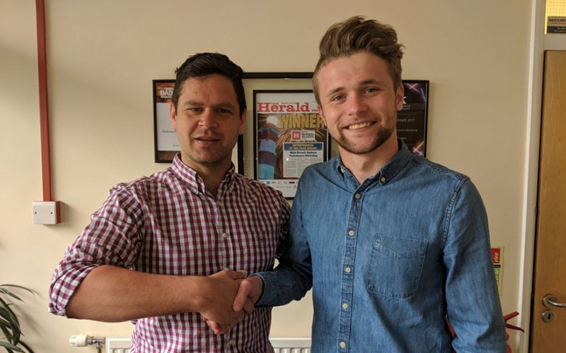 Ryan Completes his Apprenticeship and Joins Our EU Team